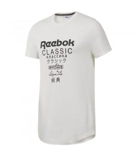 Camiseta unisex Reebok Classics Extended DJ1893 de color blanco al mejor precio en tu tienda de deportes online chemasport.es