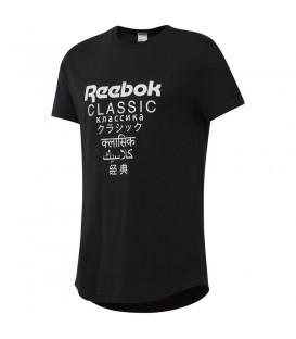 Camiseta Reebok Classics DJ1890 de color negro para hombre y mujer al mejor  precio en tu b77dcafc975