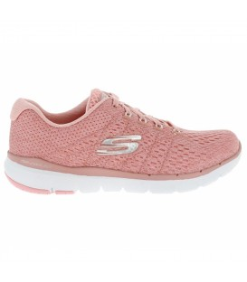 ZAPATILLAS SKECHERS FLEX APPEAL 3.0 - SATELLITES ROSA