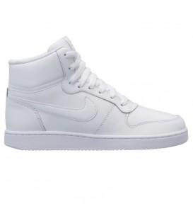 Zapatillas Nike Ebernon Mid W AQ1778-100 de color blanco al mejor precio en tu tienda de deportes online chemasport.es