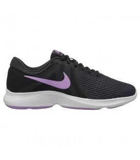 Zapatillas de running para mujer Nike Revolution 4 W AJ3491-011 de color  negro. a2376b68c33