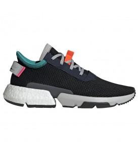 Zapatillas para hombre adidas POD-S3.1 B28080 de color negro al mejor precio y gastos de envío gratis en chema sneakers pontevedra.