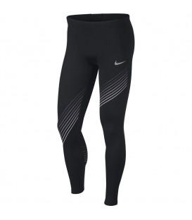 Mallas de running para hombre Nike Run GX 928435-010 de color negro con detalles reflectantes al mejor precio en chemasport.es