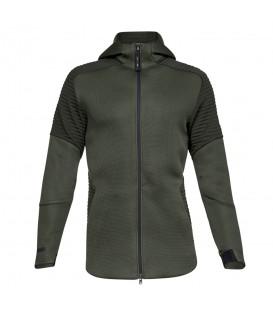 Chaqueta para hombre Under Armour Unstoppable 1320705-357 de color verde al mejor precio en chemasport.es
