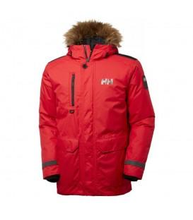 Parka Helly Hansen Svalbard 53150_110 de color rojo para hombre. Otras parkas con polar y capucha de Helly Hansen al mejor precio en chemasport.es