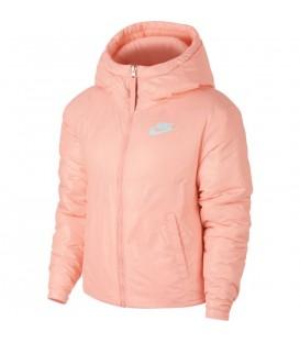 Chaqueta para mujer Nike SYN Fill 939360-646 de color rosa con capucha. Otros modelos de chaquetas de Nike para mujer en chemasport.es