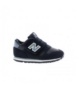 Zapatillas para niños New Balance Kids Lifestyle velcro KV373PFI de color gris y cierre de velcro en chemasport.es