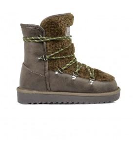 Botas de media caña para mujer D Franklin Nordic 19 Fur nut IIK18125-37 de color marrón al mejor precio en chemasport.es