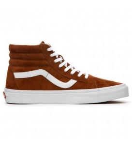 Zapatillas para hombre Vans Sk8-Hi Reissue VA2XSBU5K de color marrón al mejor precio en tu tienda de sneakers online chemasport.es