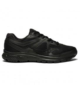 Zapatillas de running para hombre Saucony Cohesion 11 S20420-4 de color negro al mejor precio y gastos de envío gratis en chemasport.es