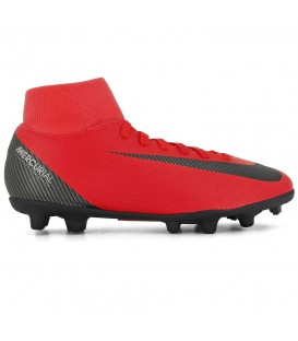 BOTAS FUTBOL NIKE SUPERFLY 6 CLUB CR7 FG/MG AJ3545-600 ROJO