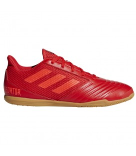 Zapatillas de fútbol sala para hombre adidas Predator 19.4 In D97976 de color rojo al mejor precio y gastos de envío gratis en chemasport.es