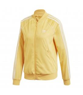 Chaqueta adidas SST Chaora DH3120 de color amarillo. Otros modelos de adidas para mujer en chemasport.es
