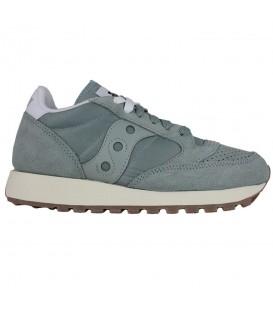 Zapatillas para mujer Saucony Jazz Original Vintage S60419-3 de color azul al mejor precio en chema sneakers Pontevedra.