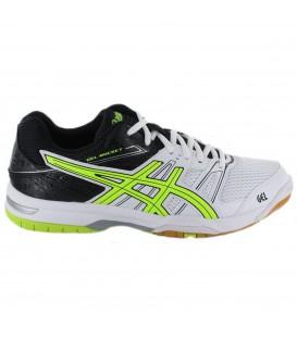 Comprar zapatillas baratas para hombre de Volleyball y balonmano Asics Gel Rocket 7 en color blanco. Consulta nuestro catálogo de productos en chemasport.es