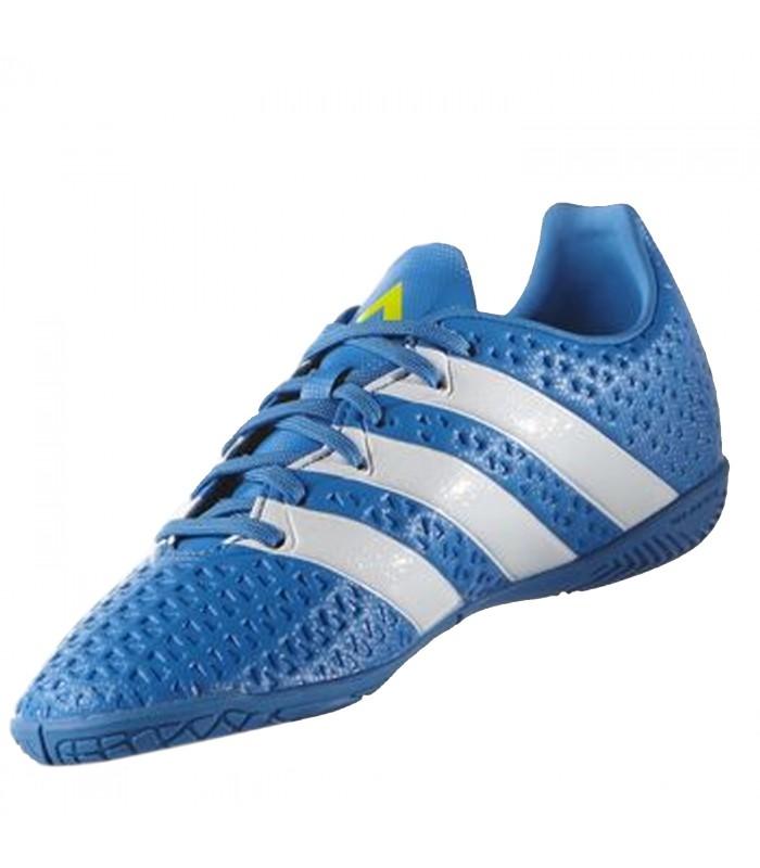 100% de primera calidad Hombre Adidas ACE 16.4 IN Jr Azul a45f8dbe86a54