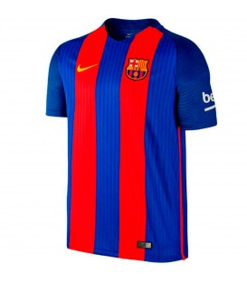 Camiseta de niño del FC Barcelona temporada 16-17 barata. En Chema Sport encontrarás los precios más bajos en equipaciones de fútbol de todas las marcas