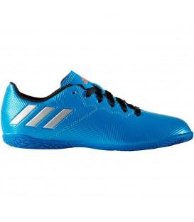 Consigue ahora las botas de fútbol sala Adidas MEssi 16.4 Indoor Junior 2016 al mejor precio en chemasport.es y recíbelas en menos de 48 horas