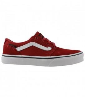 Compra ahora en Chema Sport las zapatillas Vans Chapman Stripe al mejor precio. Unas zapatillas Vans para niños en color rojo. Recíbelas en menos de 48 horas!