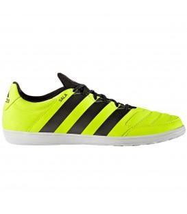 Botas de fútbol sala para hombre Adidas ACE 16.4 en color amarillo y negro para pistas interiores. Otros modelos de Adidas en Chema Sport.