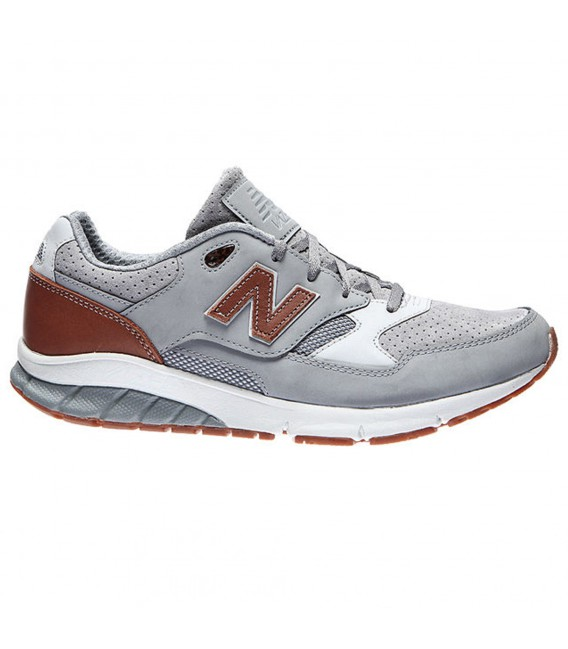 zapatillas new balance leather marron