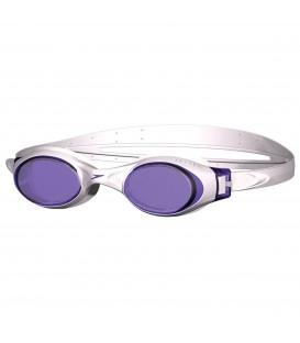 Gafas de natación Speedo Rapide de color blanco con cristales anti moho. Otros modelos de gafas de natación en Chema Sport.