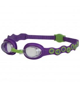 Gafas de natación para niños de Speedo con dibujos de la línea Sea Squad. Otros modelos de gafas de piscina en Chema Sport.