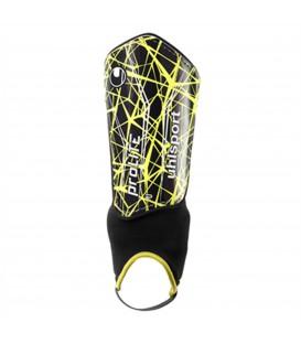 Espinilleras protección de fútbol baratas de UHLSports modelo Prolite. Otros modelos de espinilleras en chemasport.es