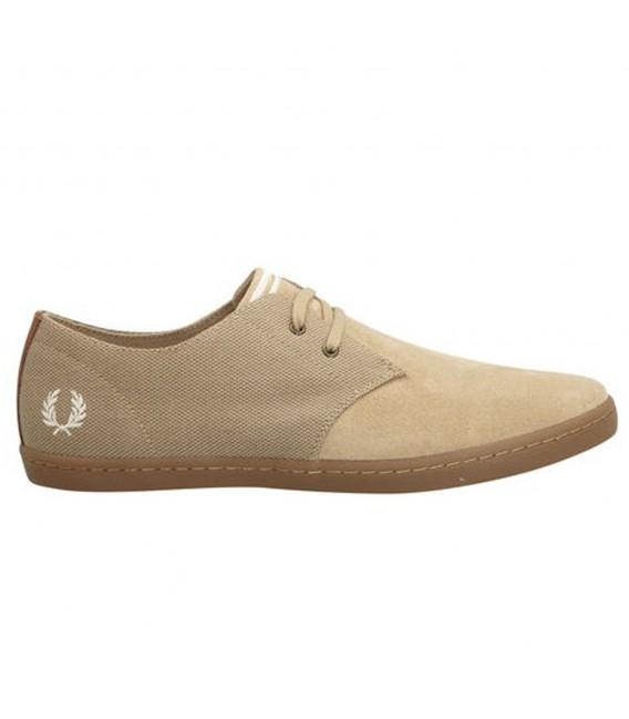 Zapatos beige Fred Perry Byron para hombre Gfq6jM0y6p