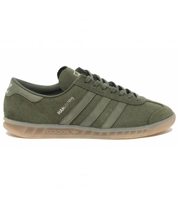 zapatillas adidas hombres verde