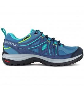Zapatillas de goretex para trekking de mujer en color azul Salomon Ellipse 2 GTX