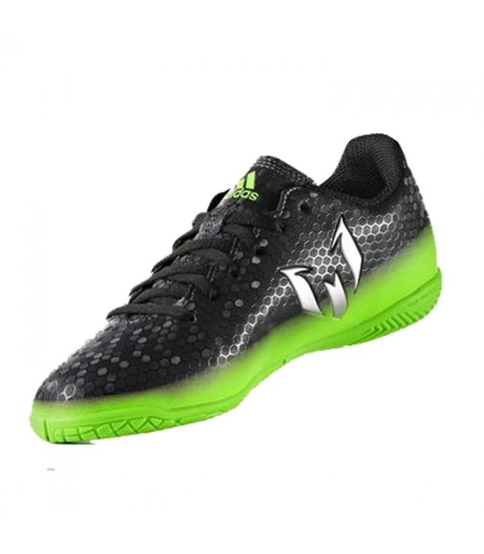 zapatillas futbol sala adidas negras