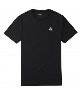 Camiseta básica para hombre de color negro Le Coq Sportif Sureau. Otras camisetas de LCS en Chema Sneakers.