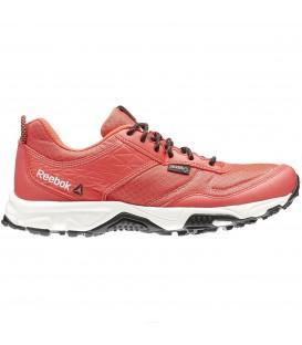 La zapatilla de mujer Reebok Franconia Ridge II GTX de color rojo es ideal para la práctica de trecking y senderismo. Incorpora cubierta de Gore-tex