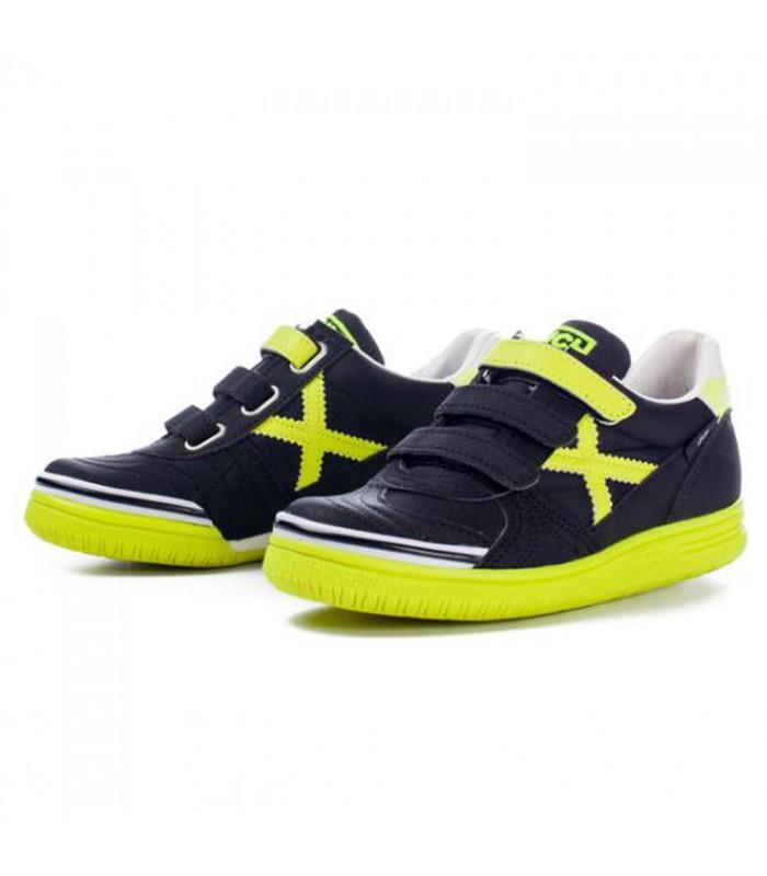 Zapatillas de Fútbol Sala G-3 IN Velcro Junior Fluor hhxX1