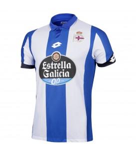Comprar camiseta RC Deportivo de La Coruña primera equipación 2016/2017 de Lotto. Otras camisetas de fútbol en Chema Sport.