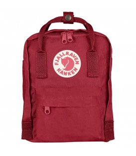 Comprar mochila Fjallraven Kanken tamaño mini de color rojo, deep red. F23561-325