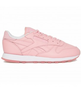 Zapatillas Reebok Classic Leather x Face Stockholm color rosa para mujer en Chema Sneakers.