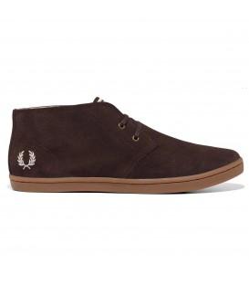 Zapatos bajos Fred Perry Byron Mid Suede en color marrón. La calidad a precios asequibles. Todo sobre Fred Perry en nuestro catálogo