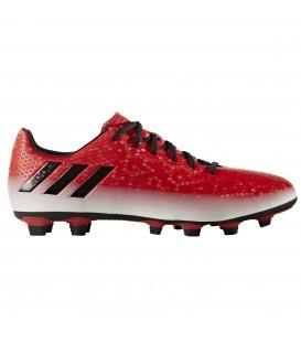 Encuentra tus botas de futbol Adidas Messi 16.4 FxG en color rojo y blanco con tacos FxG al mejor precio en Chemasport.es