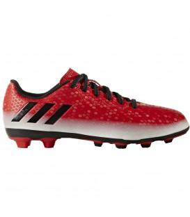 Las botas de futbol Adidas Messi 16.4 FxG J para niño en color rojo ya están disponibles al mejor precio en chemasport.es