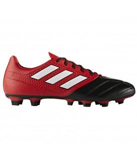 Las botas de fútbol Adidas Ace 17.4 FxG BA9692 para hombre en color rojo y negro están disponibles en tu tienda chemasport.es