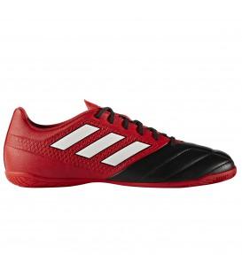 Compra las zapatillas Adidas Ace17.4 IN de fútbol sala para hombre en color rojo y negro al mejor precio en chemasport.es