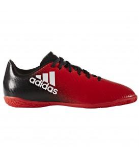 Compra las zapatillas de fútbol sala Adidas X 16.4 IN J para niño en chemasport.es al mejor precio