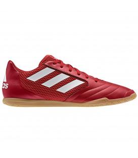Las zapatillas de fútbol sala Adidas Ace17.4 Sala para hombre en color rojo están al mejor precio en chemasport.es al mejor precio