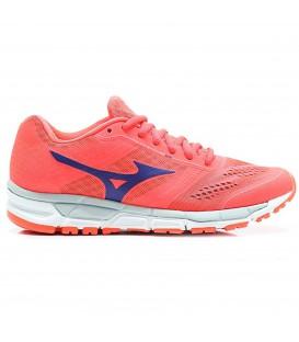 Zapatillas de running para mujer Mizuno Synchro MX de color coral. Otros modelos de running para mujer a buen precio en Chema Sport.