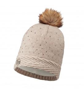 Combate el frío con este gorro Aura de la marca buff en color beis, perfecto para este invierno. Compralo ya en chemasport.es