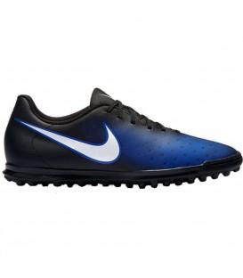 Compra ya tus botas de fútbol MagistaX Ola II TF de Nike para hombre encolor negro y azul al mejor precio en chemasport.es