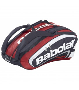 Comprar paletero Babolat Rh Team Padel en color negro y rojo en chemasport.es al mejor precio