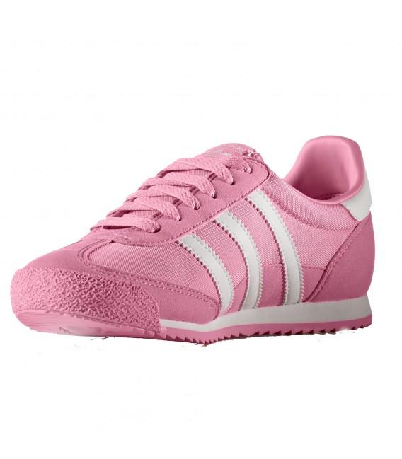 adidas dragon mujer rosas